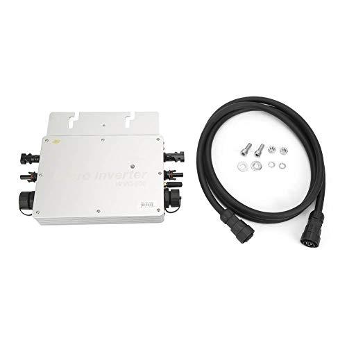 Solarkonverter, 600W IP65 wasserdichter Solar Power Grid-Tie Micro-Wechselrichter 22-50VDC 40A(220V Output)