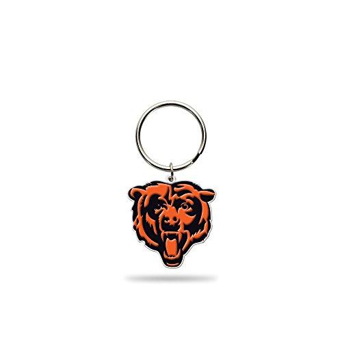(Rico Industries NFL Chicago Bears Flexible Team Logo Keychain)