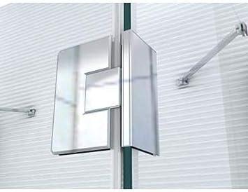 Perfil de aluminio – Soporte de pared Perfil – – Cristal bisagras – tropfle Crecimiento – überlaufleiste – Esquina Conexión – Mango de puerta de cristal – Accesorios para duchas – Cabina de ducha – Mampara: Amazon.es: Bricolaje y herramientas