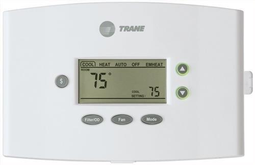 Trane Thermostat 3 Heat (Gas/ELEC) 2 Cool/Heat Pump Dual Fuel TCONT402AN32DAA / THT02509 by Trane