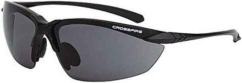 Scratch-Resistant Wraparound Radians Smoke Safety Glasses