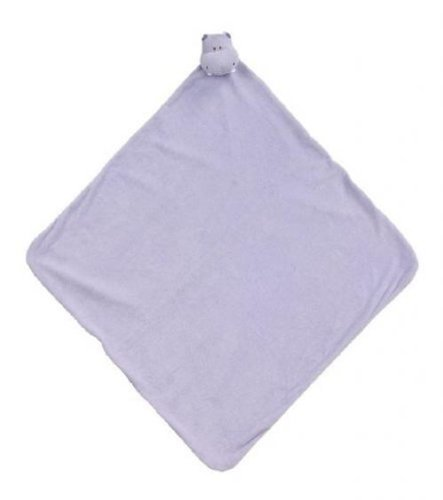Purple Hippo Big Napping Security Blankie