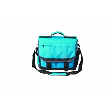 Martin Just Stow-it Ultimate Messenger Bag for the Arts, Ocean Blue
