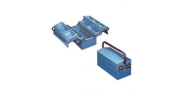 Heco - Caja metalica 430x205x210 azul: Amazon.es: Bricolaje y herramientas