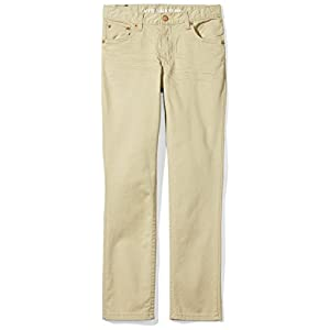 Kid Nation Boys Skinny Fit Five-Pocket Twill Pant