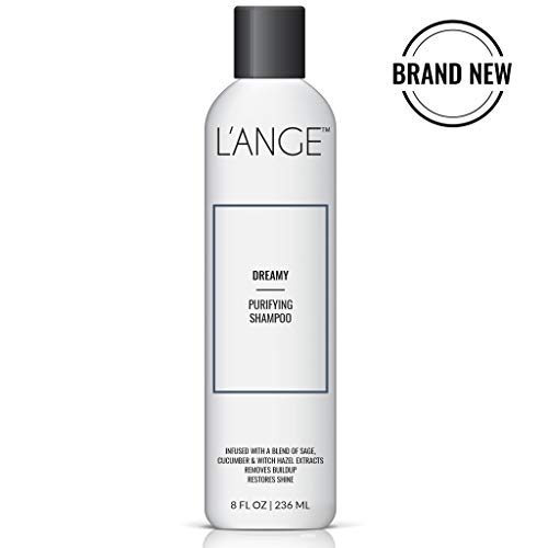 L'ange Hair DREAMY Purifying Shampoo - Naturally Extracted Clarifying Shampoo - Paraben Free Deep Cleansing - Removes Dirt & Residues - Detoxifying Treatment for All Hair Types, 8 Fl Oz, MSRP $18.00 from L'ANGE HAIR