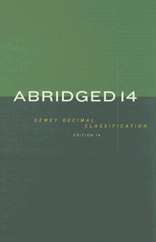 ABRIDGED DEWEY DECIMAL CLASSIFICATION AND RELATIVE