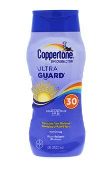 Coppertone Ultra Guard Sunscreen Lotion Broad Spectrum