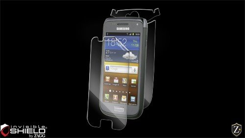 (ZAGG Full Body invisibleSHIELD for Samsung Galaxy W - 1 Pack - Retail Packaging - Transparent)