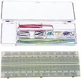 TWIN INDUSTRIES TW-E41-1020 BREADBOARD, SOLDERLESS, 830 TIE POINTS