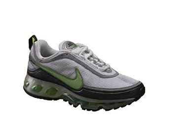 new style f8b53 97be9 Nike Air Max 360 II Womens Running Shoes White/Green/Black ...