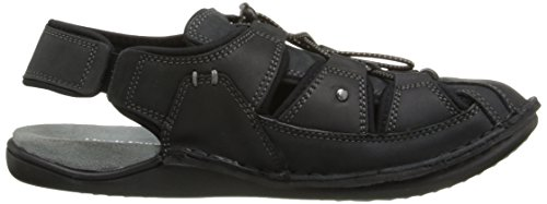 Hush Puppies BERGEN GRADY / BLACK WAXY LEATHER BLACK 8 EW Black Waxy Leather 7jx7MZ8