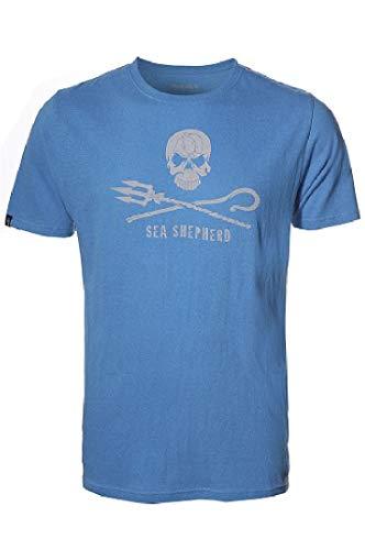 Sea Shepherd - Mens Classic Hoodlamb T-Shirt - L (Blue)