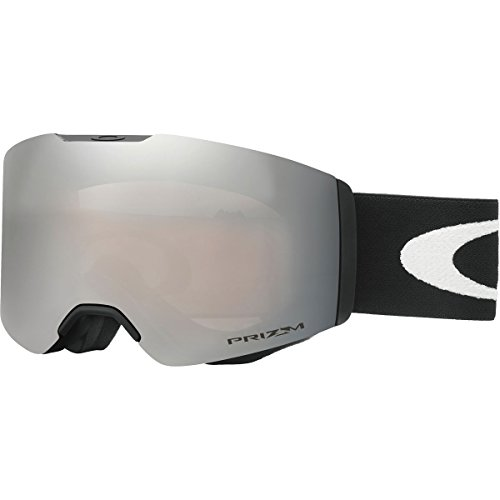 Oakley Fall Line Snow Goggles, Matte Black Frame, Prizm Black Iridium Lens, - Oakley Iridium Black Goggles