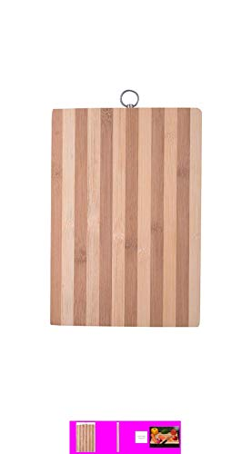 Rockfield Eco-Friendly Premium Natural Bamboo Wooden Kitchen Chopping Cutting Board Price & Reviews