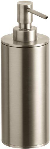 (Kohler K-14379-BV Purist Countertop Soap Dispenser, Vibrant Brushed Bronze)