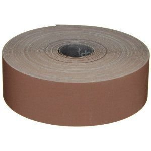 3M Utility Cloth Roll 314D, Aluminum Oxide, 2'' Width x 50 yds Length, P280 Grit, Maroon (Pack of 1)