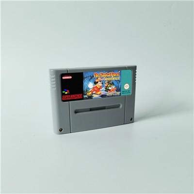 - Game card The Magical Quest starring Mickey Mouse - Action Game Cartridge EUR Version ,Game Cartridge 16 Bit SNES , cartridge snes , cartridge super