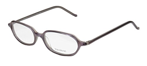 Vera Wang V20 Womens/Ladies Designer Full-rim Eyeglasses/Glasses (49-16-136, Lavender) - Vera Lavender Collection