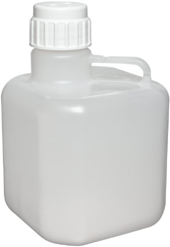 Azlon 505634-5 Polypropylene 10L Octagonal Heavy Duty Autoclavable Carboy - Polypropylene Carboy