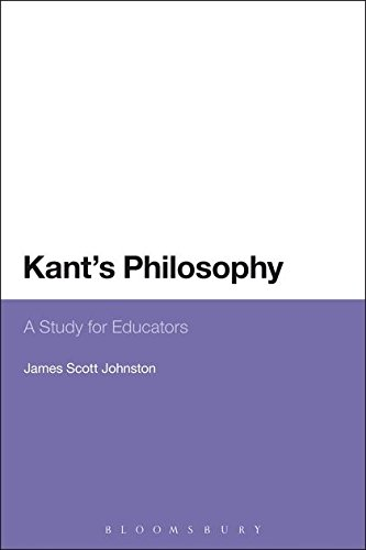 Kant's Philosophy: A Study for Educators