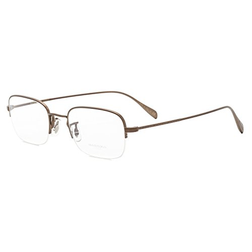 Oliver Peoples Rushton OV1199 Eyeglasses 5251 Autumn Bronze / RX Clear Demo Lens