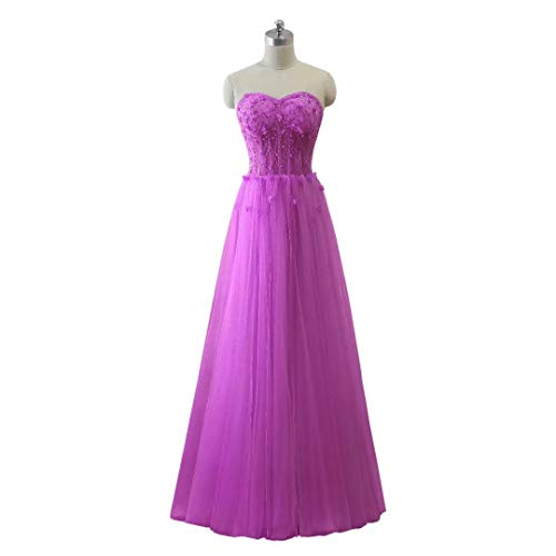 Abendkleid Formal Love Schatz Long Perlen Tulle King's Ballkleider Frauen Maxi 63 nxYSOqdX
