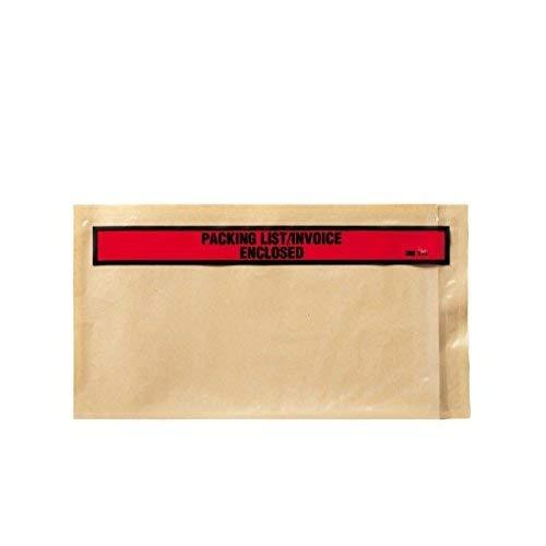 - 3M PLE-T4 Top Print Packing List Envelope, 5.5