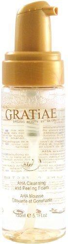 Organics Gratiae Aha nettoyage et peeling mousse, 5,1 onces
