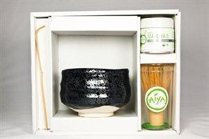 Organic Ceremonial Matcha gift set Black Pearl by AIYA SINCE 1888