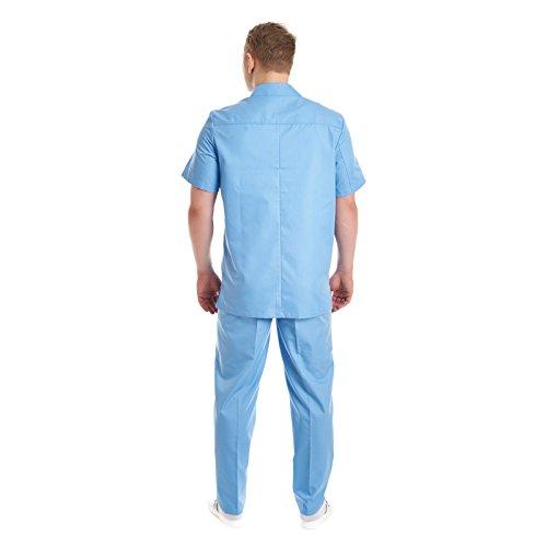 Pijama Sanitario competo laboratorio hombre: Amazon.es: Ropa y accesorios