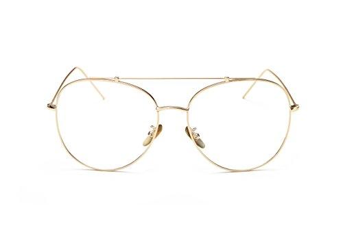 Bonvince Men's Or Women's Aviator Sunglasses - Clear Stores Aviator Glasses In