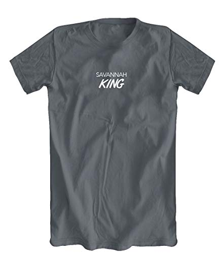 Savannah King T-Shirt, Men's, Grey - (Savannah King)