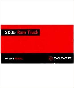 2009 dodge ram 1500 5.7l owners manual