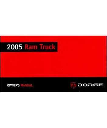 dodge ram owners manual - 7