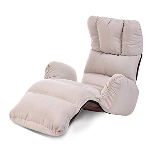 Chaise Lounges Bedroom Lazy Couch Single Bay Window Sofa Bed Japanese Tatami Foldable Sofa Recliner Multi-Functional Lounge Chair Multi-Range Sofa Chair Load-Bearing 120KG