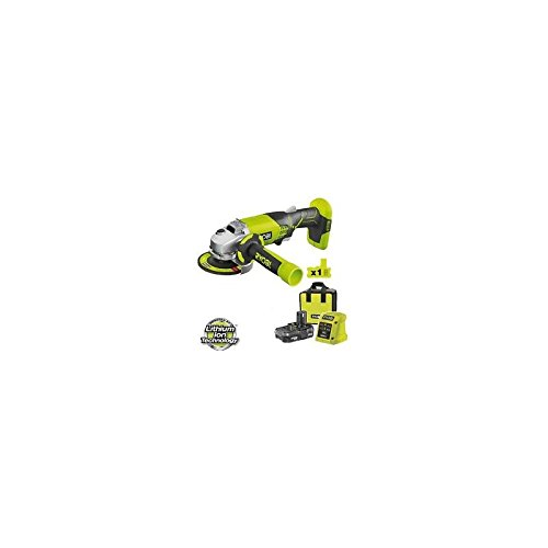 Ryobi R18AGL13S - Molinillo De 18V - 115Mm De Litio 1, 3Sh R18AGL13S 18 V One+