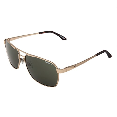 O'Neill CRUZER Mens Collection Sunglasses (Matte Gold/Tort, Vintage Green - Oneil Glasses