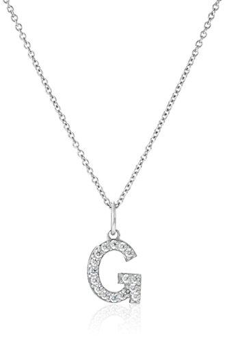 Platinum Sterling Swarovski Zirconia Necklace product image