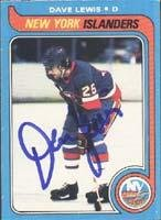 Dave Lewis New York Islanders 1979 Opee Chee Autographed Card. This item comes with a certificate of authenticity from Autograph-Sports. Autographed