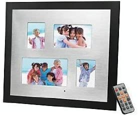 Digital Photo Collage 7 INCH Digital Frame Plus Two 2.5 X 3.5 in. and ONE 3 X 5 in. Photo Frame by OMNITECH