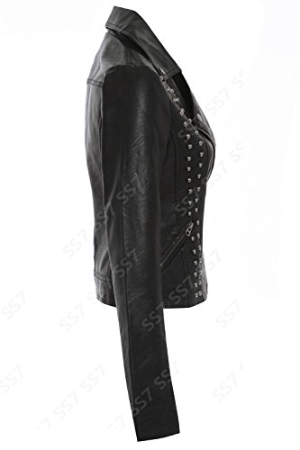 SS7 - Blouson -  - Manches longues Femme Noir Noir
