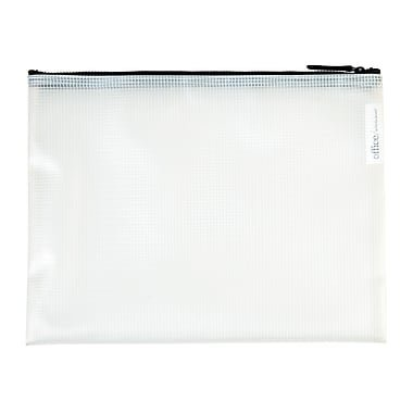 Office by Martha Stewart, Zipper Pouches, 4/Pack (50387)