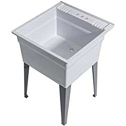 Cashel Heavy Duty Sink (Essential Sink Kit - Steel Leg - Granite)