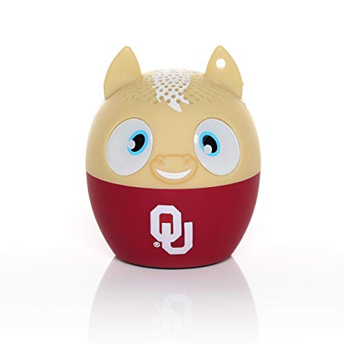NCAA Bitty Boomer Wireless Bluetooth Speaker, Oklahoma Sooners