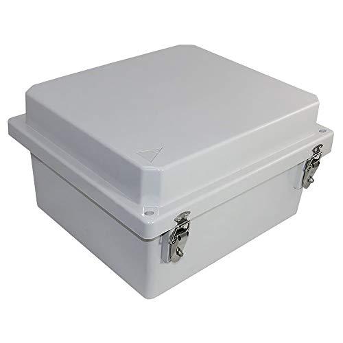 Altelix 14x12x8 FRP Fiberglass NEMA 4X Box Weatherproof Enclosure with Hinged Lid & Stainless Steel Latches by Altelix (Image #2)