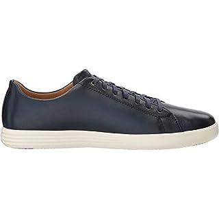 Cole Haan Men's Grand Crosscourt II Sneaker, navy leather burnished, 11.5 Medium US