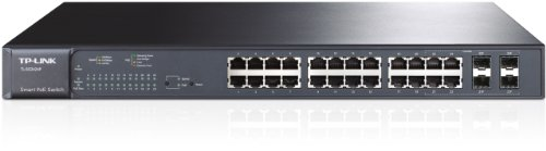 Tp-link TL-SG2424P THE PROVIDES 24 10/100/1000MBPS PORTS THAT SUPPORTS 802.3AT/AF-COMPLI
