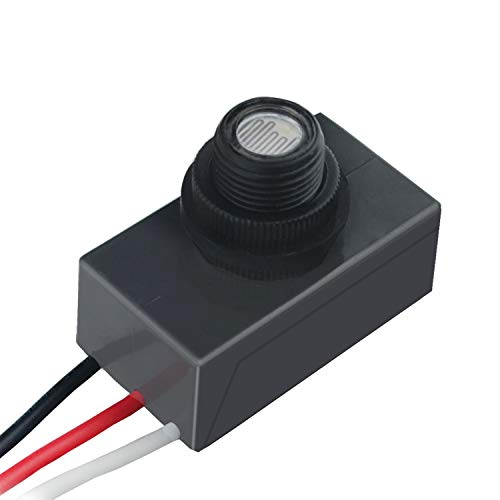 120-277V LED Photocell Dusk To Dawn Outdoor Swivel Cell Light Control Photocell Sensor (Photocell) (Detector Photocell)