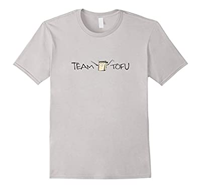 Team Tofu Funny T-Shirt for Tofu Lovers and Vegans Sword
